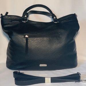 Jessica Simpson Black Shopper Satchel Crossbody